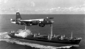 P-2H_Neptune_over_Soviet_ship_Oct_1962