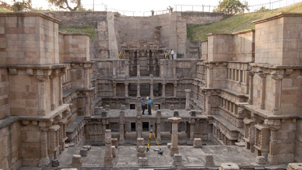 The Rani ki Vav stepwell.